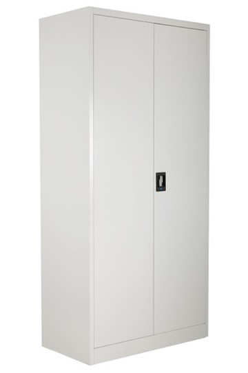 Economy Tall 2 Door Metal Cupboard