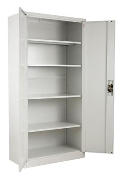 Economy Tall 2 Door Metal Cupboard