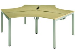 Axis Three Way Cluster Bench