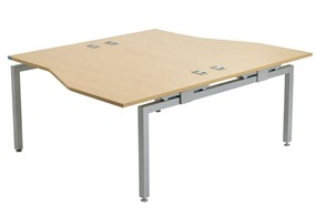 Linear Double Sided Wave Desk