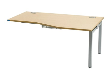 Linear Single Wave Extension Desk