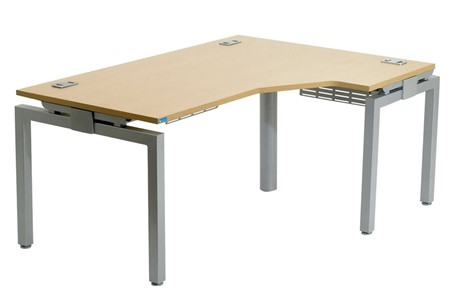 Linear Single Asymmetric Desk