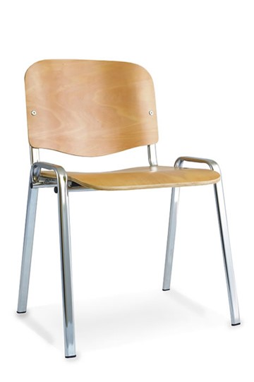 Beech Chrome Conference Chair