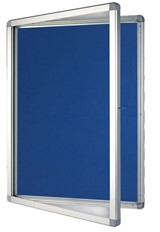 Outdoor Display Cases - A4 530 x 704mm Blue