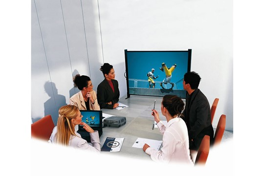 Table Projector Screen