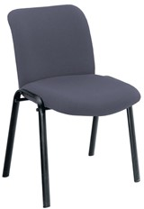 Pavilion Visitors Chair - Charcoal