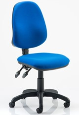 Promotion Operator Chair - Blue No Arms