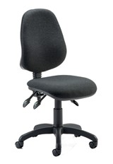 Chiro Comfort - Fabric Office Chair - Black