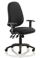 Topaz Operator Chair - Black