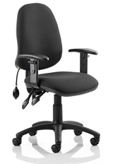 Lumber Office Chair - Black