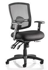 Dulce Mesh Office Chair - Black