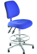 Electro Static Dissipative Chair - Blue