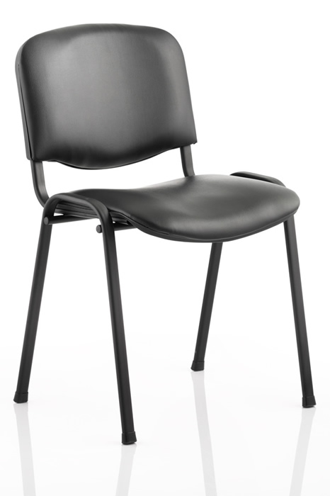 Vinyl Conference Chair Stackable Arms Available
