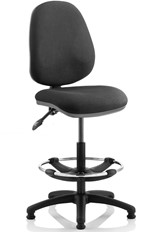 Vantage Draughter Chair - Black No Arm