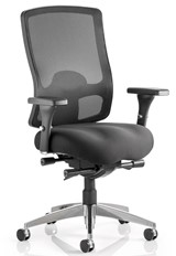 Regent Mesh Office Chair - Black