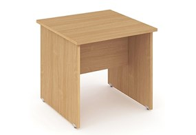 Price Point Beech Small Panel End Desk