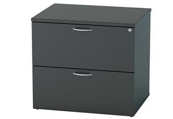 Nene Black 2 Drawer Side Filer