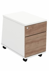 Ascend Mobile Pedestal with File Drawer - Birch