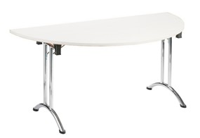 Avon Folding Semi Circular Table