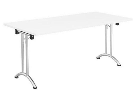 Avon White Folding Rectangular Table