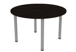 Nene Black Round Meeting Table