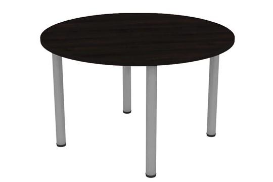 Nene Black Round Meeting Table