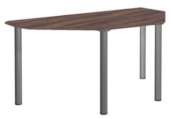Harmony D-End Meeting Table - 1200mm