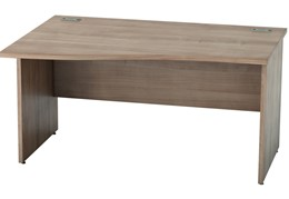 Thames Wave Panel Leg Desk