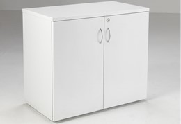 Hawk White Desk High Cupboard