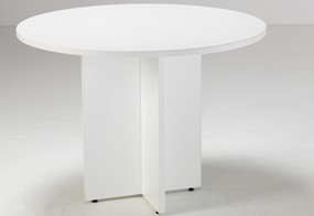 Kestral White Round Meeting Table