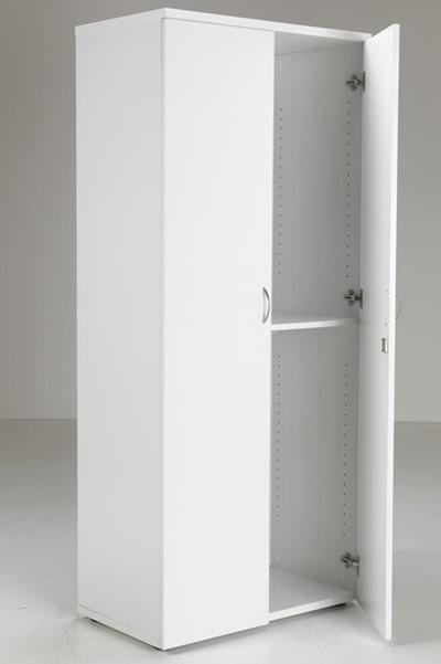 Kestral White 1800 High Cupboard