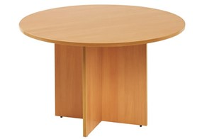 Hawk Round Meeting Table - Beech