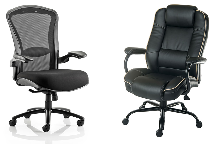 heavy duty office chairs for larger users. Black Bedroom Furniture Sets. Home Design Ideas
