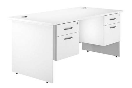 Valoir Double Pedestal Desk