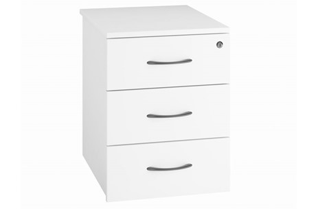 Valoir Three Drawer Mobile Pedestal