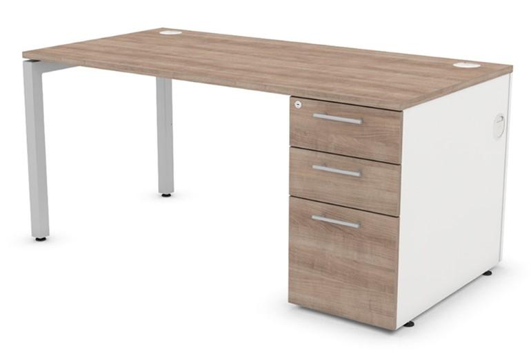 Duty Rectangular Pedestal Desk