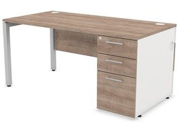Duty Modesty Panel Pedestal Desk