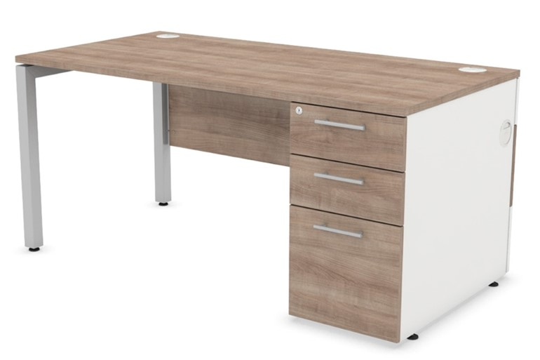Duty Modesty Panel Pedestal Desk