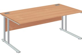 Commerce Rectangular Cantilever Desk