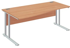 Commerce Wave Cantilever Desk