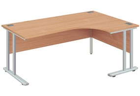 Commerce Cantilever Crescent Desk
