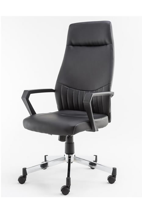 Luca Executive Chair  sc 1 st  ChairOffice & Luca Elegant Executive High Back Leather Office Chair
