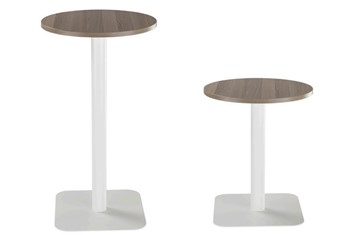 Contract Table 800 - Height 430mm Beech Silver