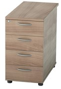 Universal 4 Drawer Desk High Pedestal