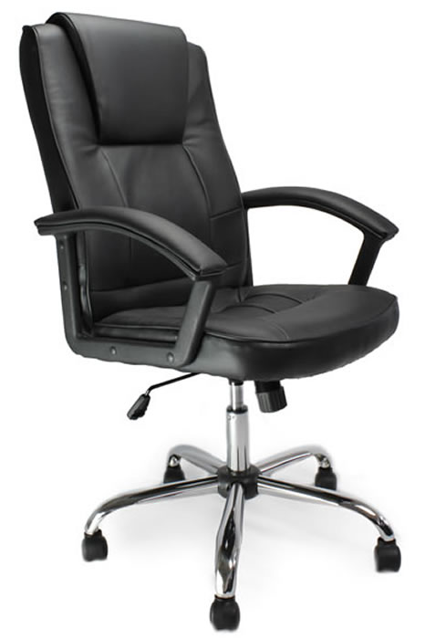 Attractive Hyde Leather Office Chair