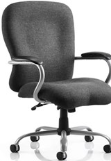 Titan Heavy Duty Operator Chair - Charcoal