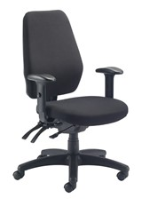 Call Center Operator Chair - Charcoal