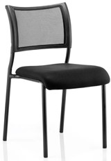 Melbourne Black Stacking Chair - Black